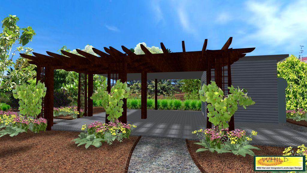 3D Community Garden   Community Space