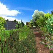 3D community garden - creek