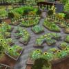 3D  community garden - mandala 1
