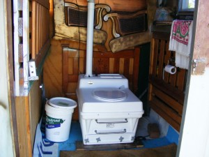 cutting edge - Composting toilet