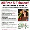 August 2012 workshops