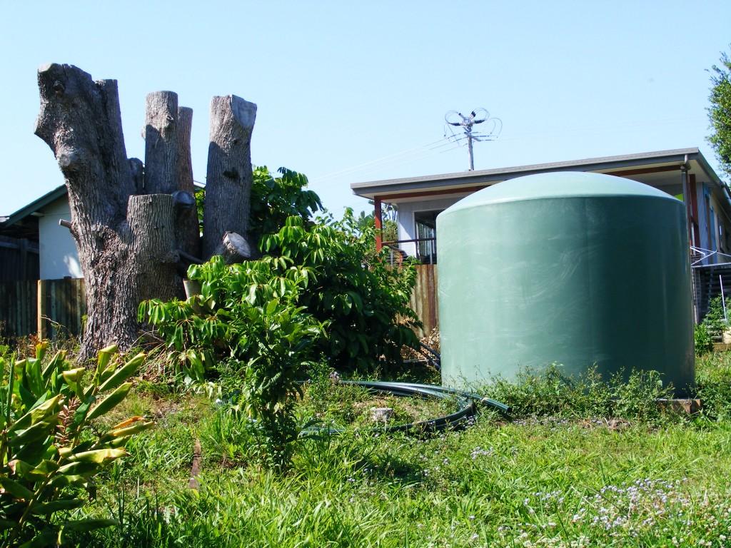 Installing our header tank - Saptember 2012