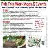 October and November Workshops at Coffs Community garden
