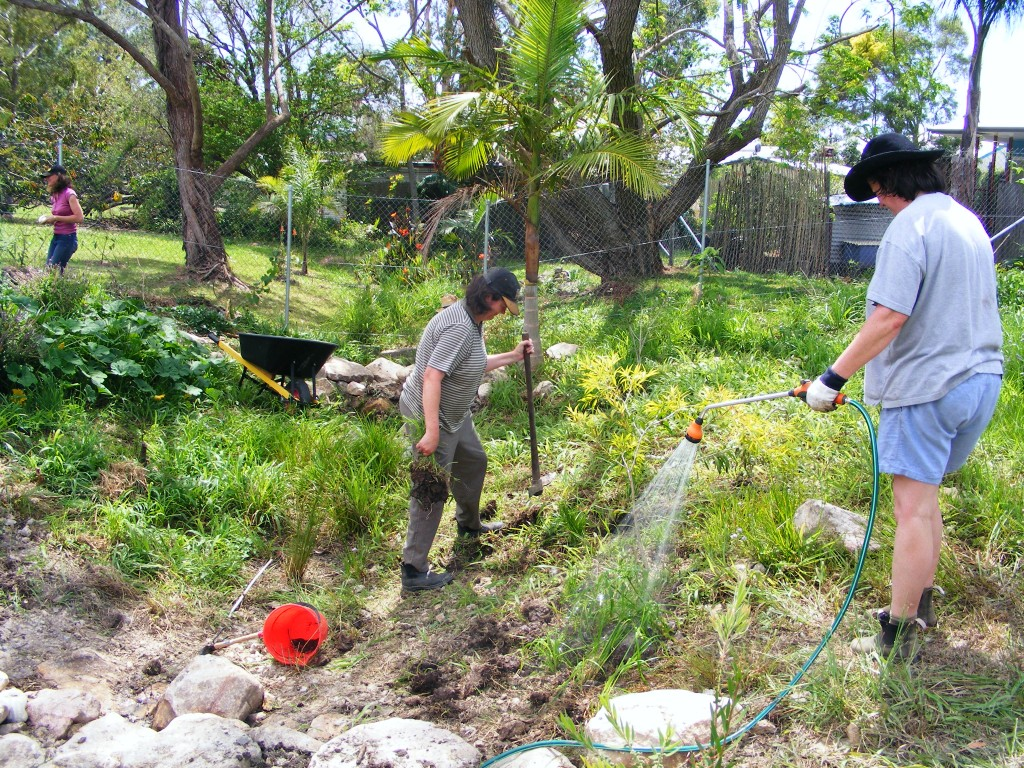 Rehabilitating our waterway - October 2012