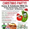 Christmas Party event poster