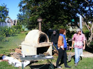 Wood fired Oven at the CRCG